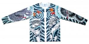 HOMIEK 仲間組 #03 HIKESHI 長袖刺青Tシャツ