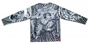 HOMIEK 仲間組 #04 KARASUⅠ 長袖刺青Tシャツ